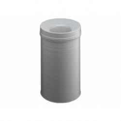 Papierbak+vlamdover Durable 30ltr lichtgrijs