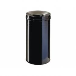 Papierbak+vlamdover Durable 30ltr zwart