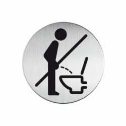 Infobord pictogram Durable verboden std urineren