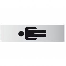 Infobord pictogram heer 44x165mm