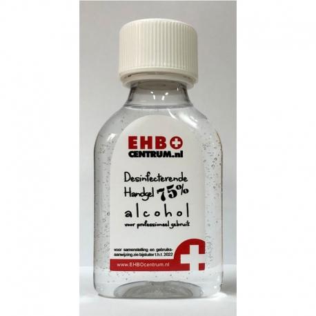 Flacon Desinfecterende alcohol handgel 75% 100ml