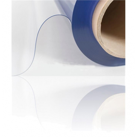 Transparante folie UV 0,30mm 137cm breed per meter