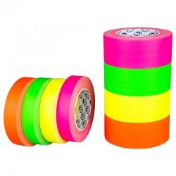Markerings en belijningstape FLUOR GROEN 50mm x 25m voor sport scholen, winkels, en kantoren