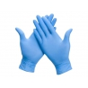 Handschoen Comfort nitril M blauw 100 stuks