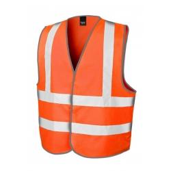 High Viz Veiligheids vest - Oranje