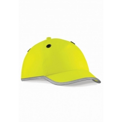 Beschermings cap HI-VIZ - Geel