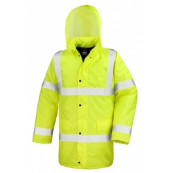 Core Hi Viz Motorway Coat RESULT
