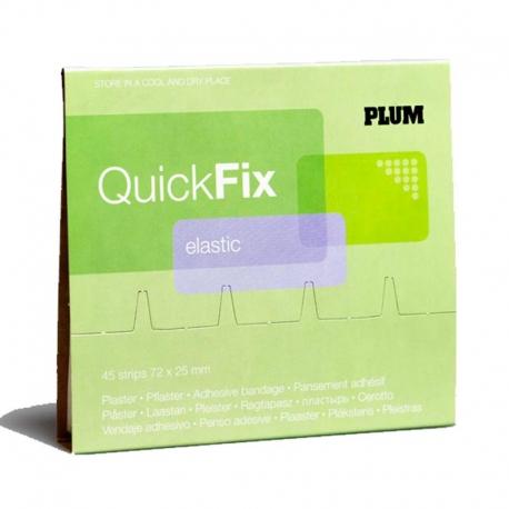QuickFix Navulling Elastic pleisters 72x25mm