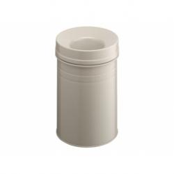 Papierbak+vlamdover dur 15ltr grijs