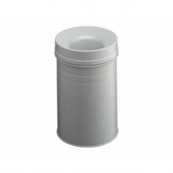 Papierbak+vlamdover Durable 15ltr lichtgrijs
