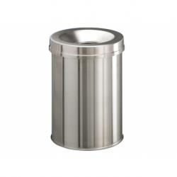 Papierbak Durable vlamdovend rvs 15 Liter